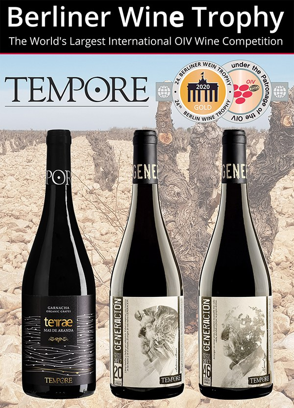 BERLINER WINE TROPHY GIVES 3 NEW GOLD MEDALS FOR OUR ORGANIC WINES