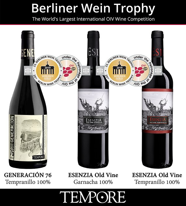 3 NEW GOLD MEDALS FOR OUR ORGANIC WINES – BERLINER WINE TROPHY, SUMMER EDITION